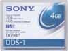 Sony DDS-1 4mm 90m DAT Data Cartridge Tape DG90P
